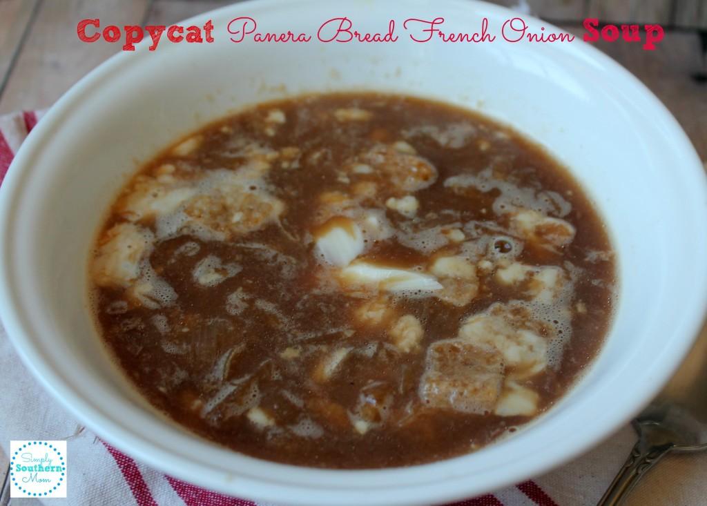 Copycat Panera Bread French Onion Soup 2
