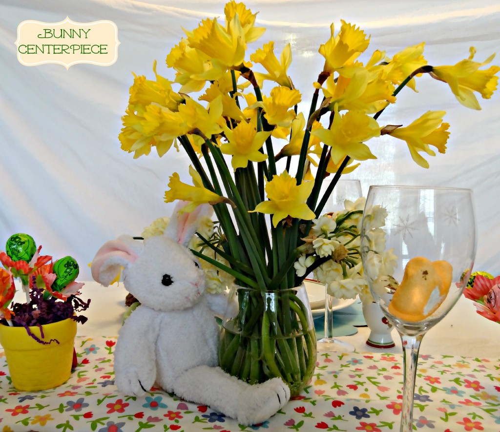 How To Make An Easter Tablescape And Centerpiece