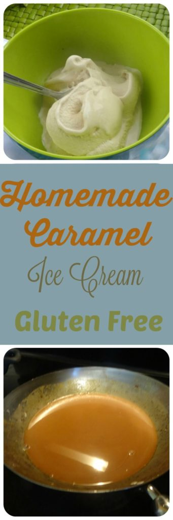 Gluten Free Caramel Ice Cream Recipe