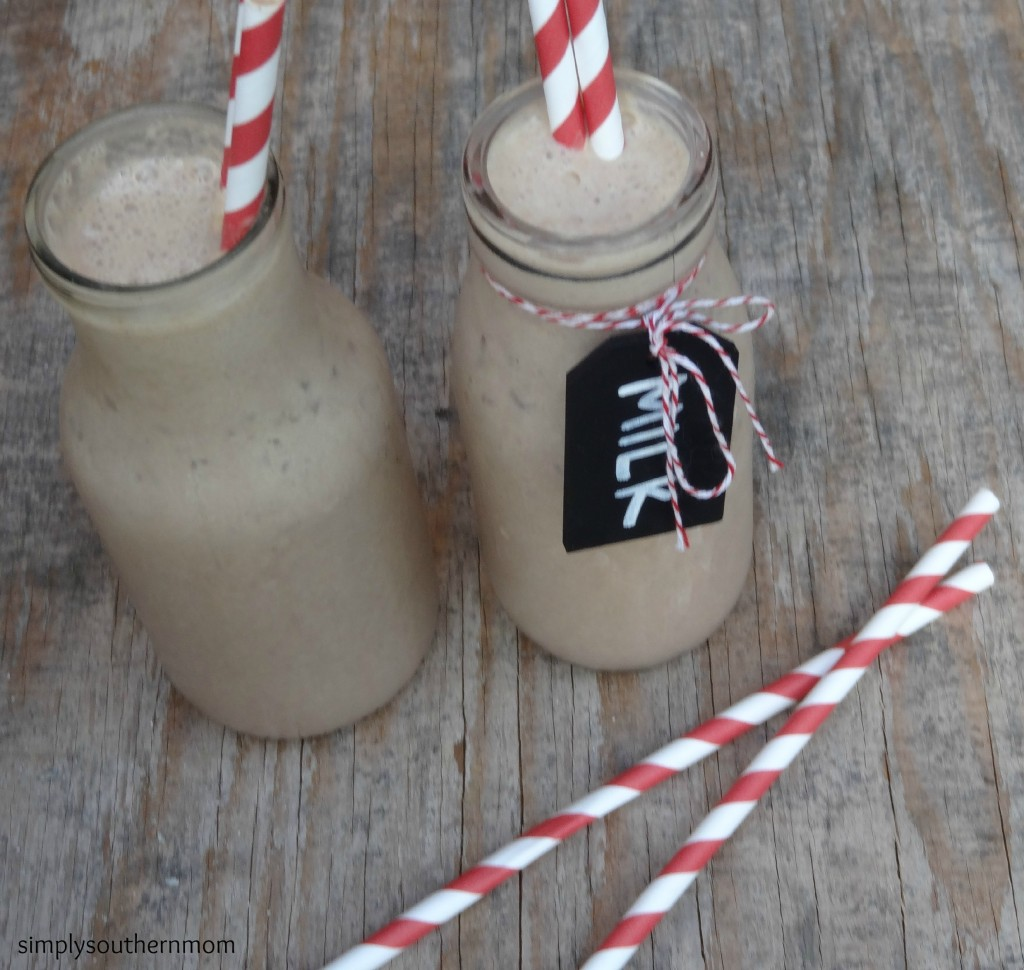 peanut butter & chocolate smoothie
