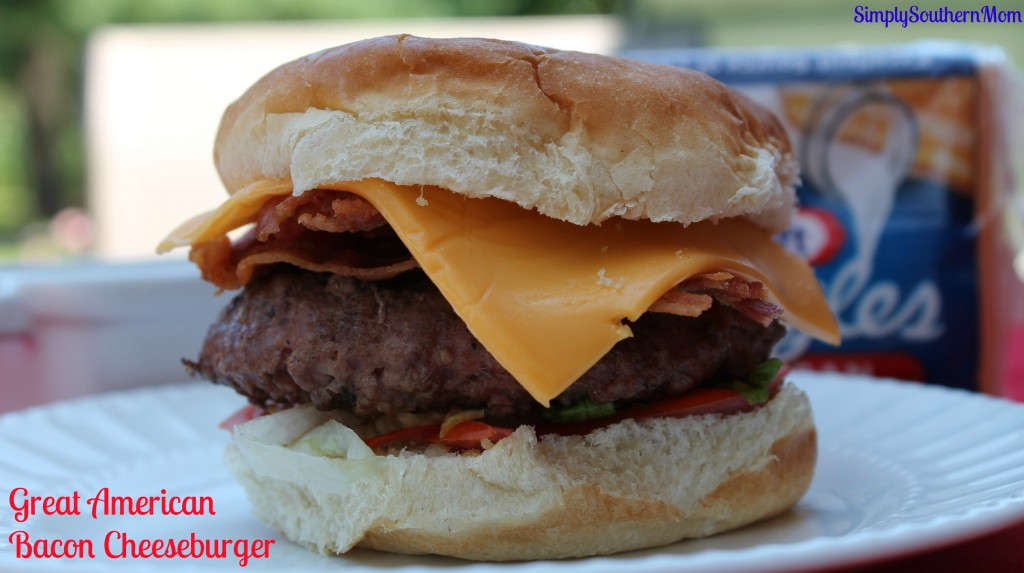 Great American Bacon  Cheeseburger Kraft