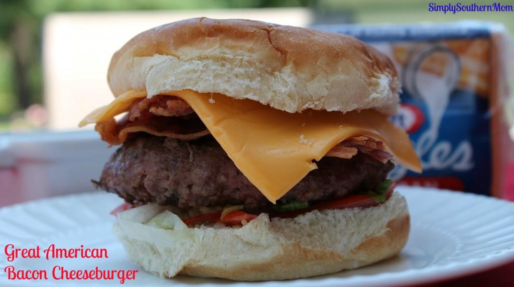 Great American Bacon  Cheeseburger Kraft