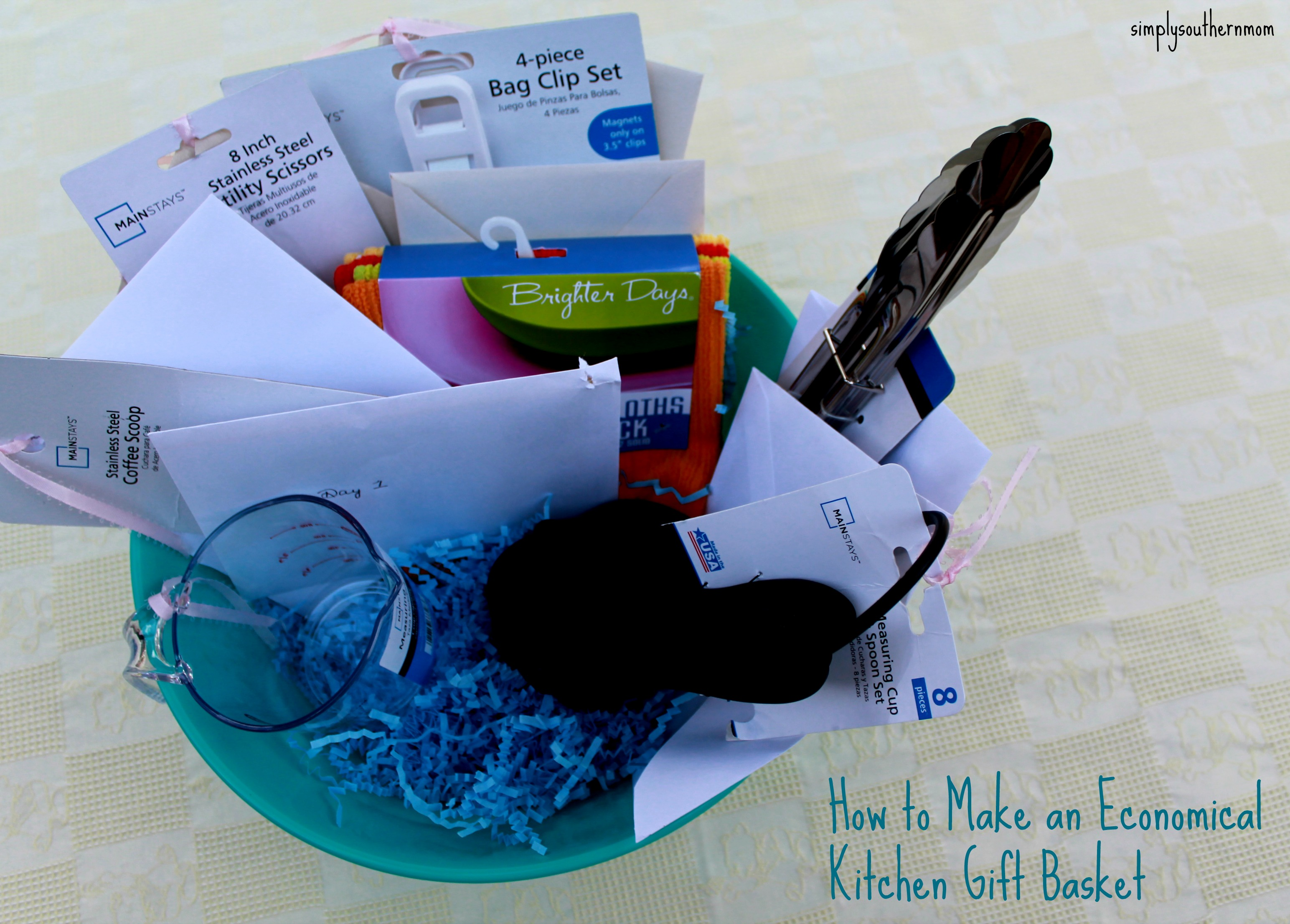 Kitchen Present How To Make An Economical Kitchen Gift Basket Simply Southern Mom