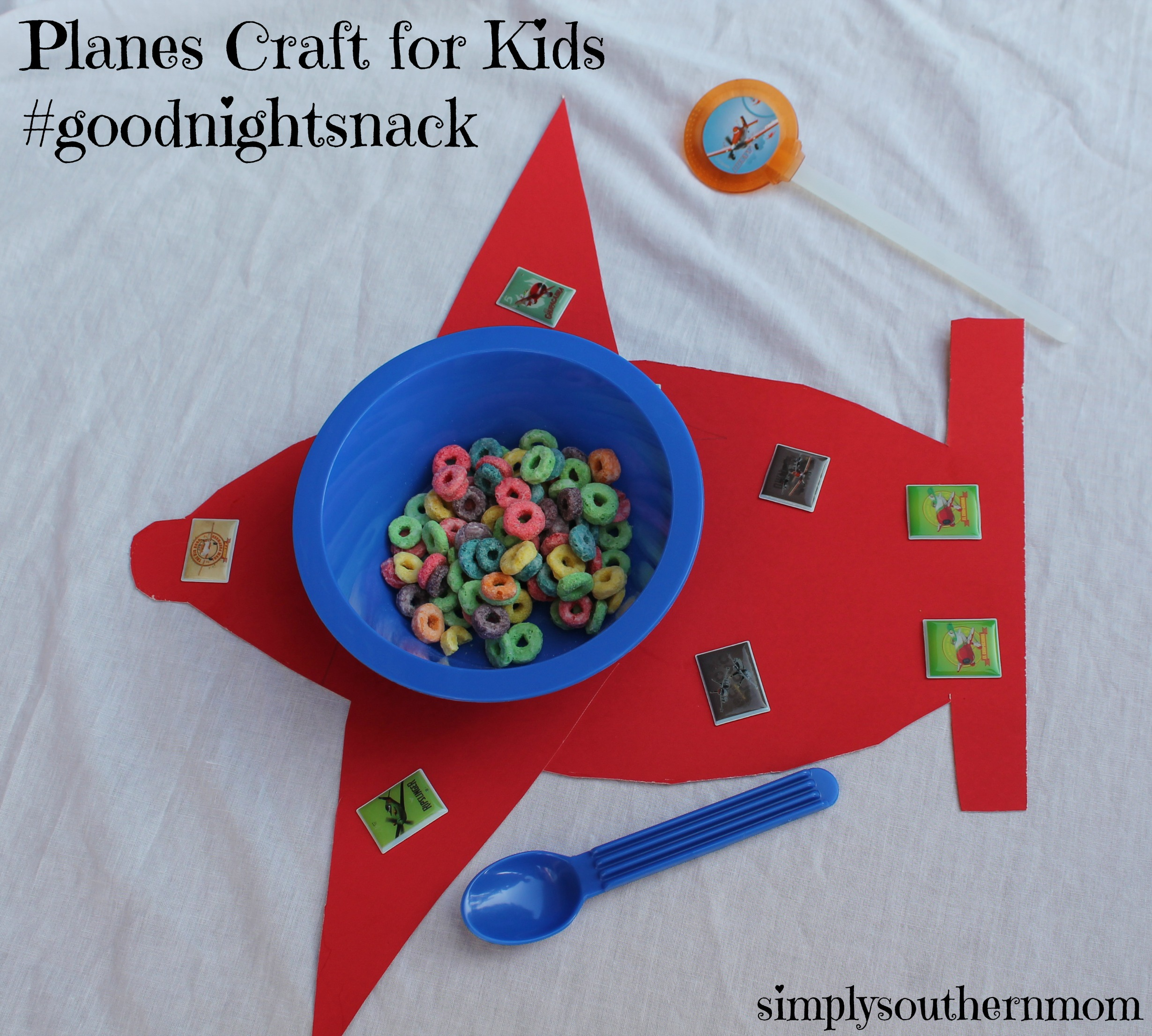 planes goodnight snack ideas simply southern mom