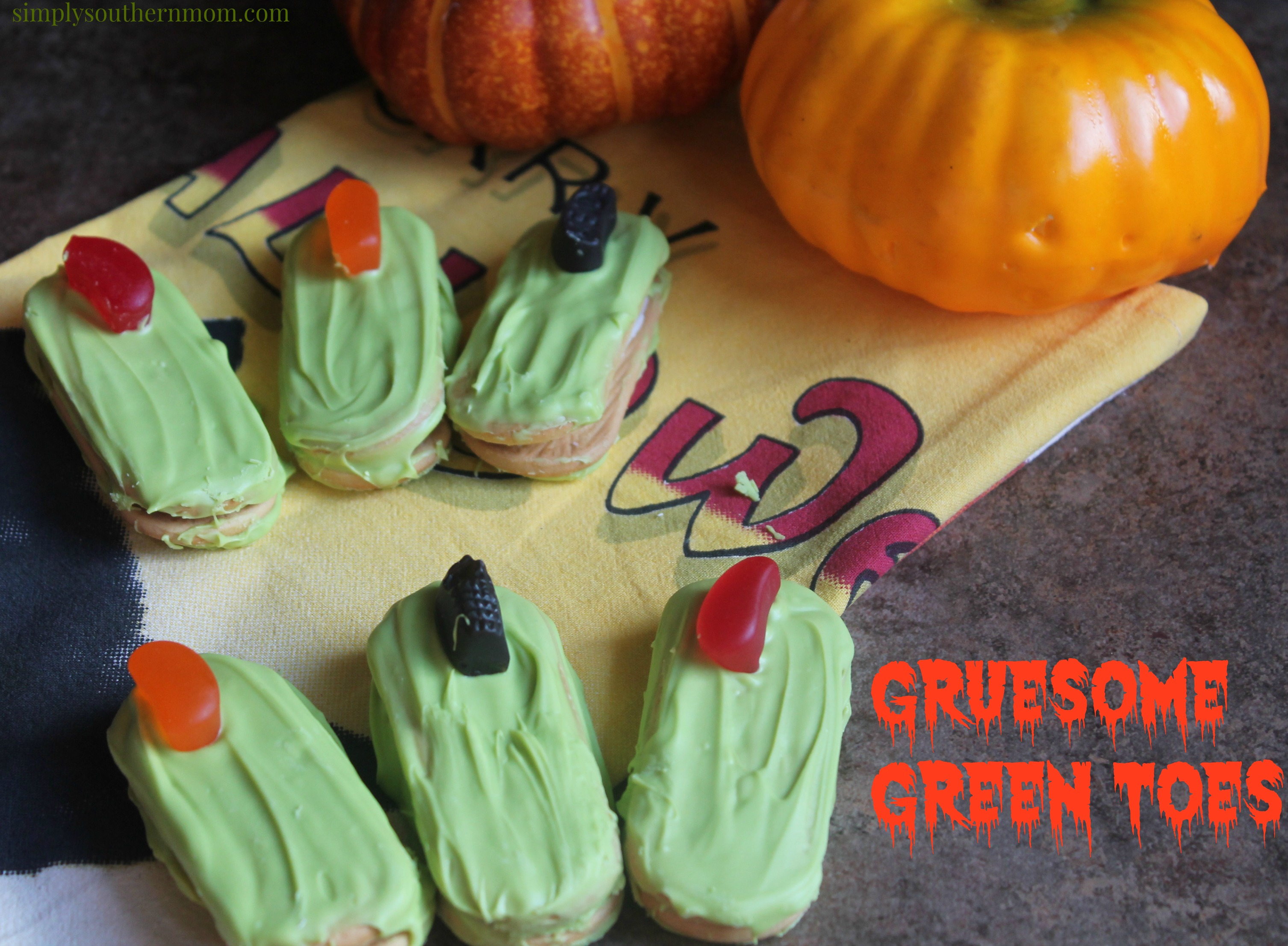 Gruesome Green Toes Halloween Recipe