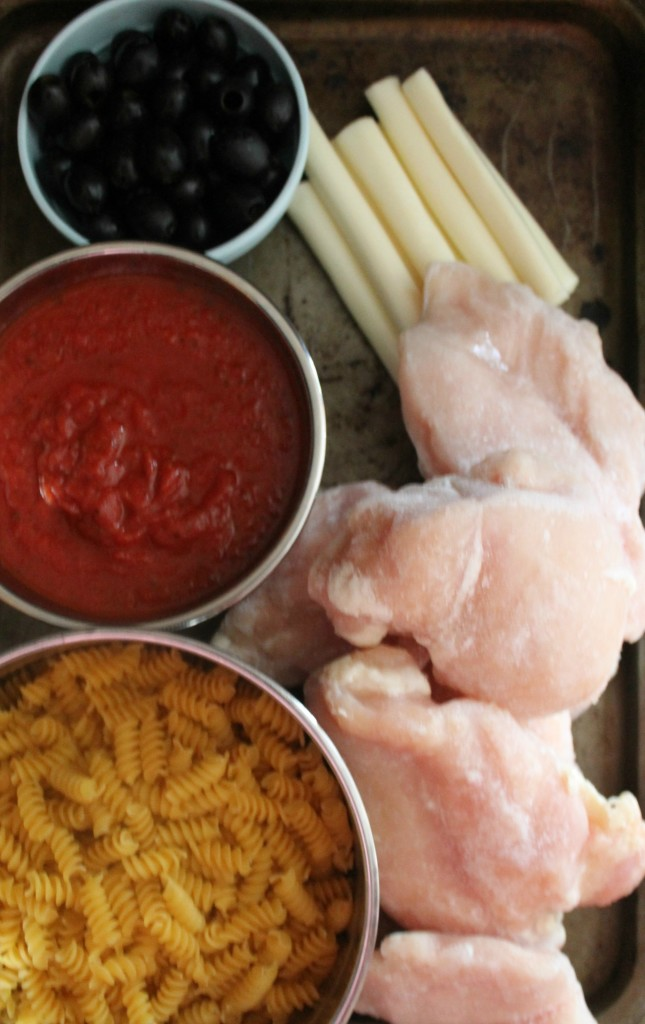 Ingredients for mummy chicken
