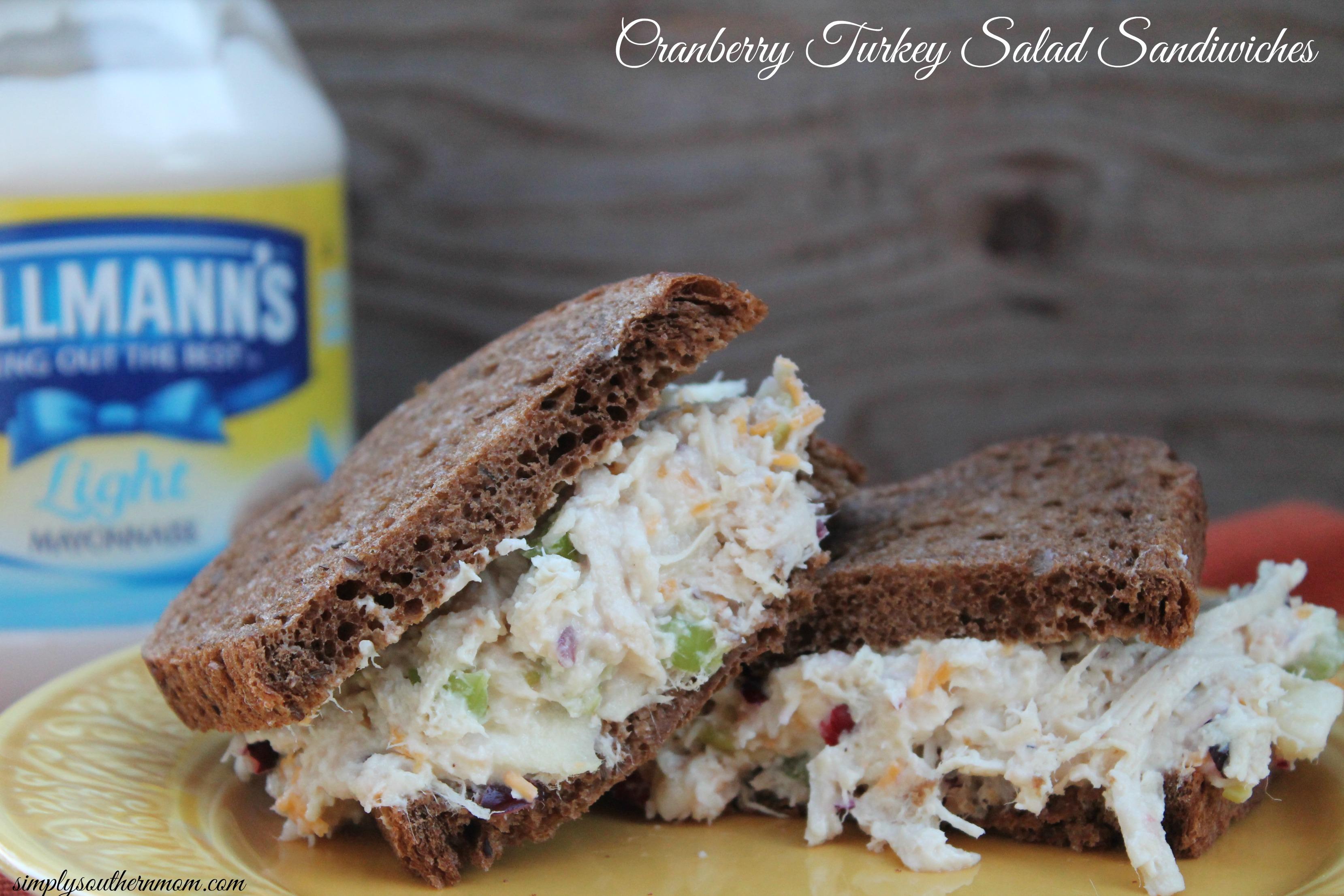 Gluten free cranberry turkey salad recipe simply for Thanksgiving turkey sandwich recipe
