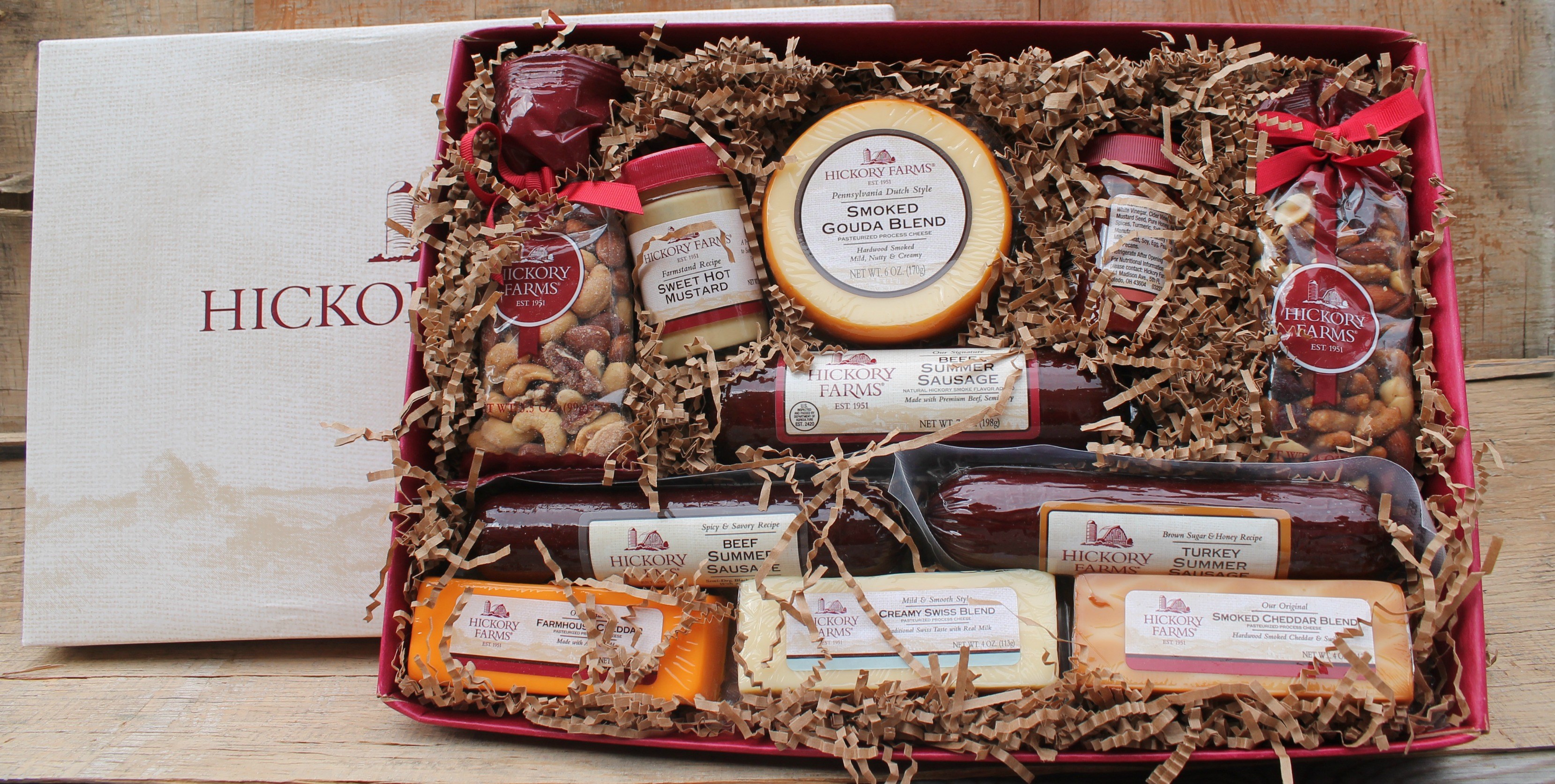 Our Holiday Traditions, Including Hickory Farms - Simply Southern Mom