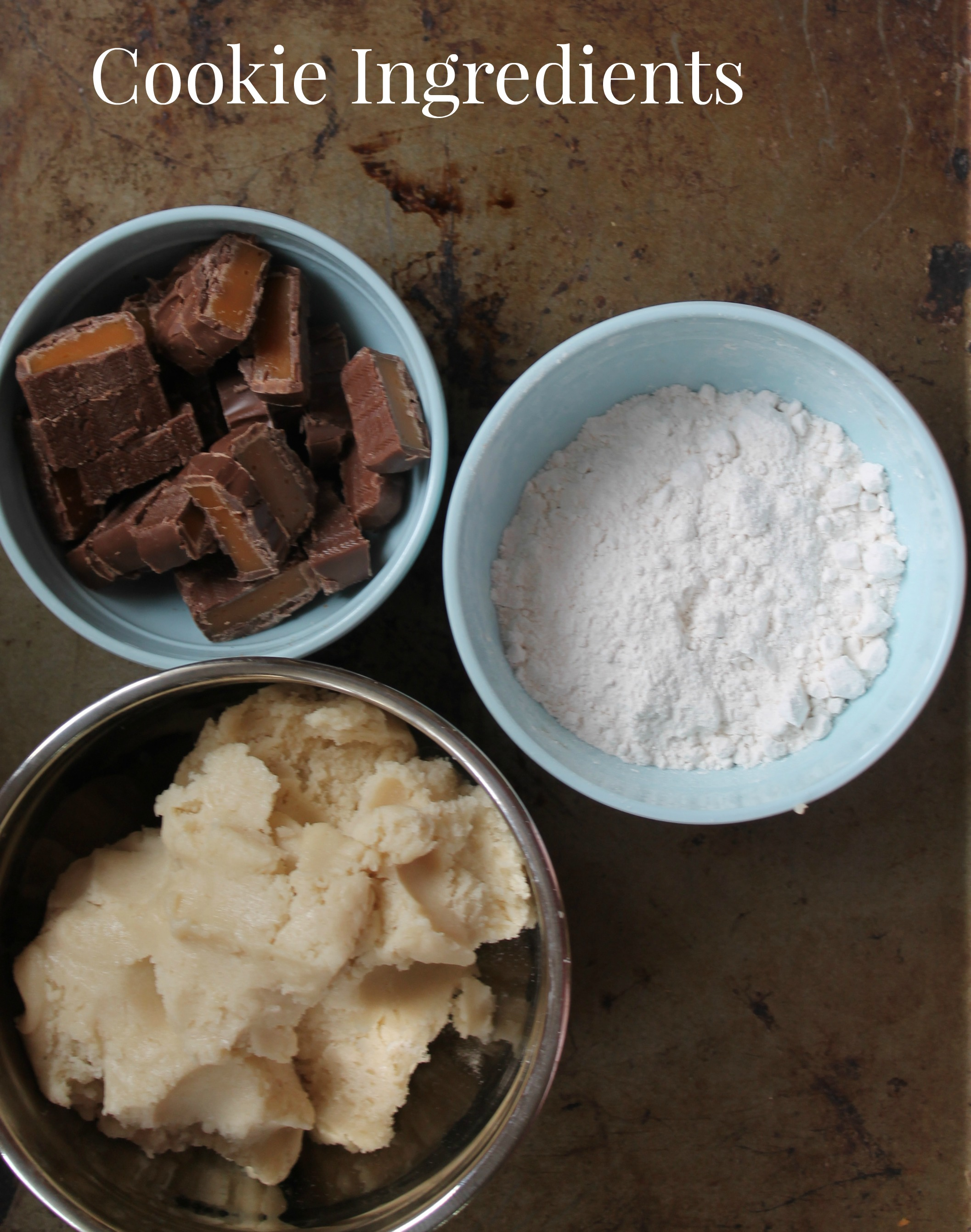 Easy Candy Bar Cookies Recipe