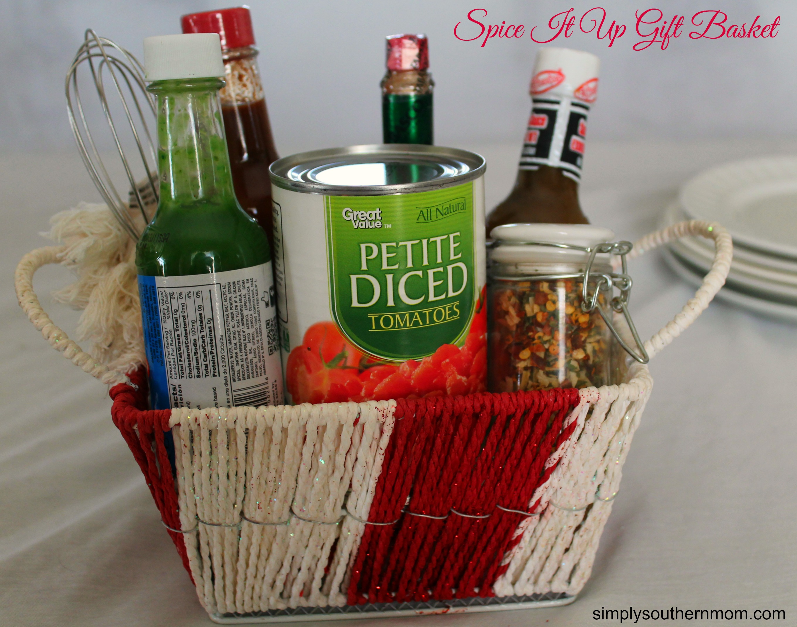 Spice It Up Diy Valentine S Day Gift Basket Simply Southern Mom