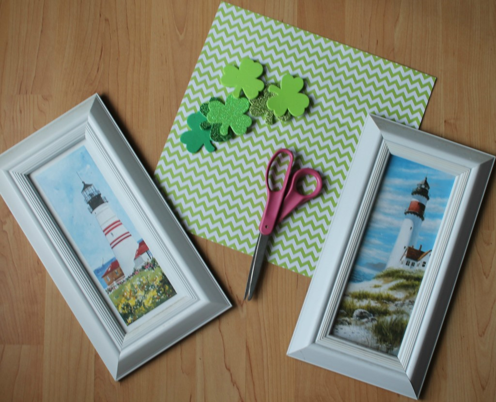 supplies for shamrock picture