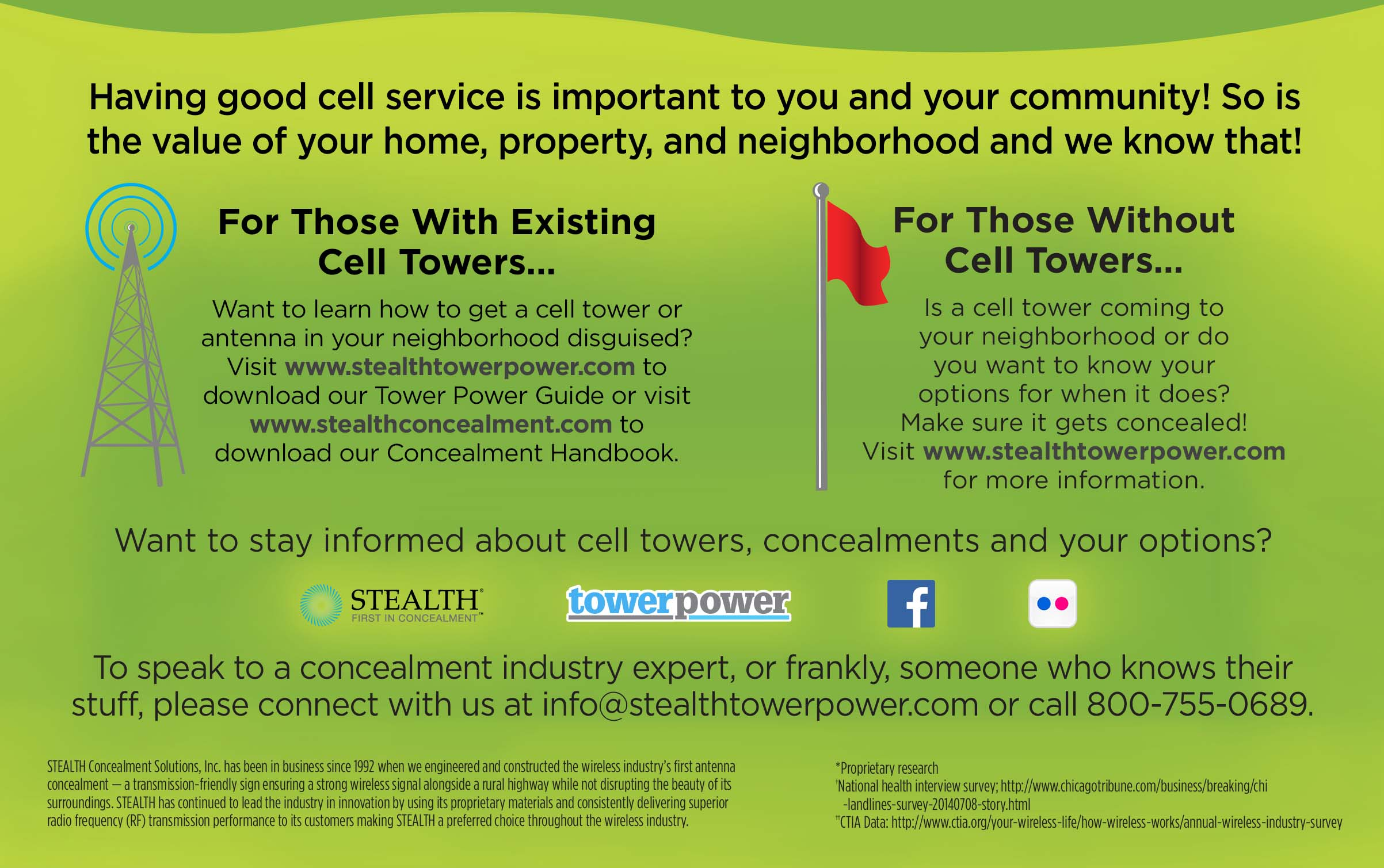 Ugly Cell Phone Towers Be Gone! - Simply Southern Mom