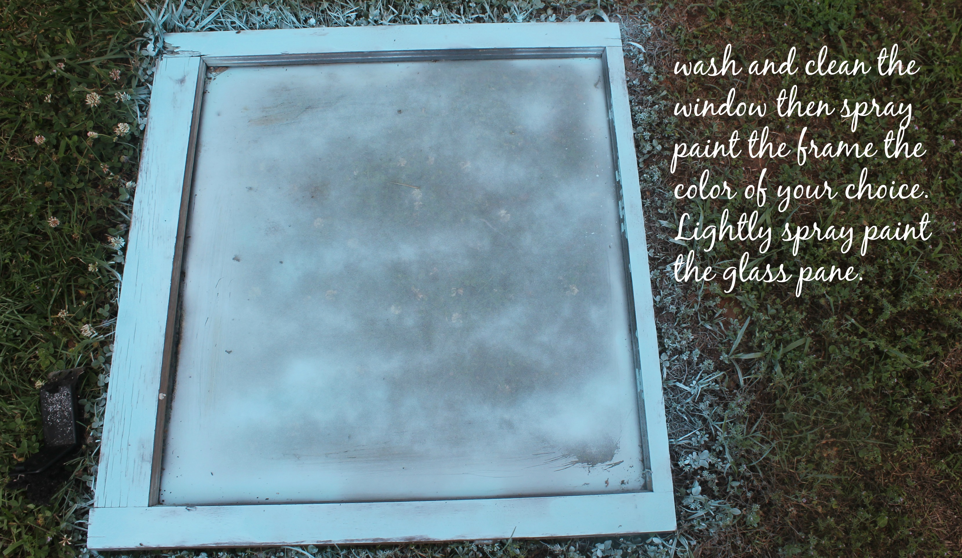 Old Window Frames Diy Project Using Old Window Frames Simply Southern Mom