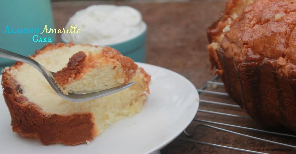 Amaretto Pound Cake Cream Cheese