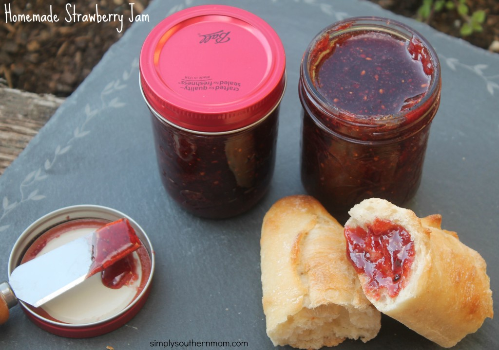 how to make strawberry jam with jamsetta