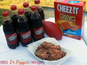Dr Pepper BBQ Chicken Wings Recipe