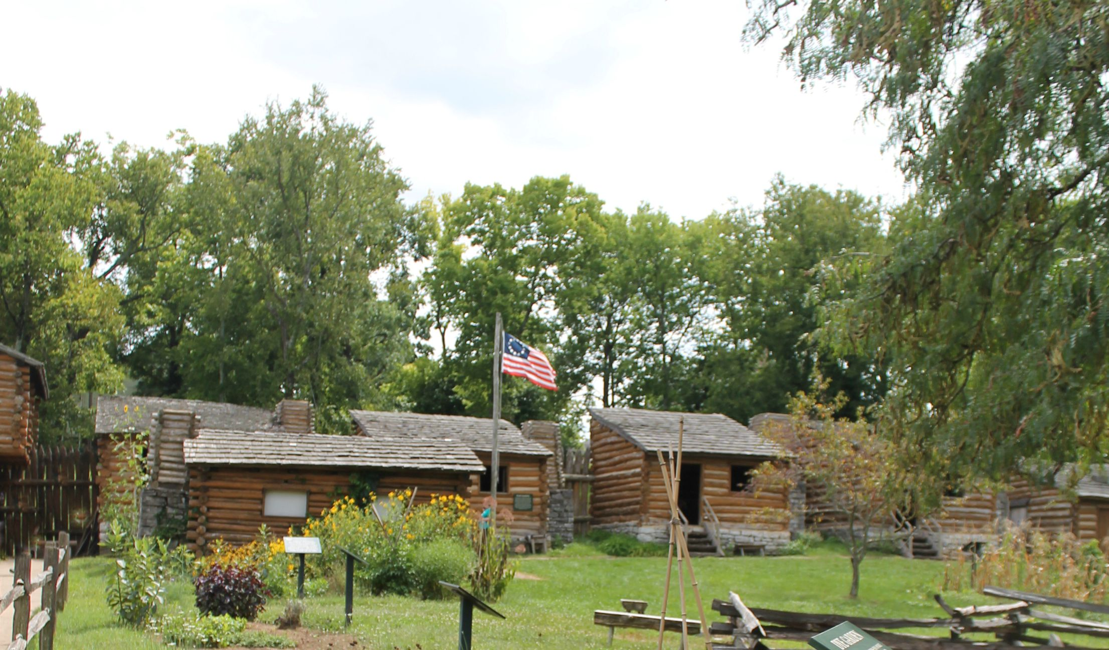 Old Fort Harrod State Park Harrodsburg Kentucky Simply