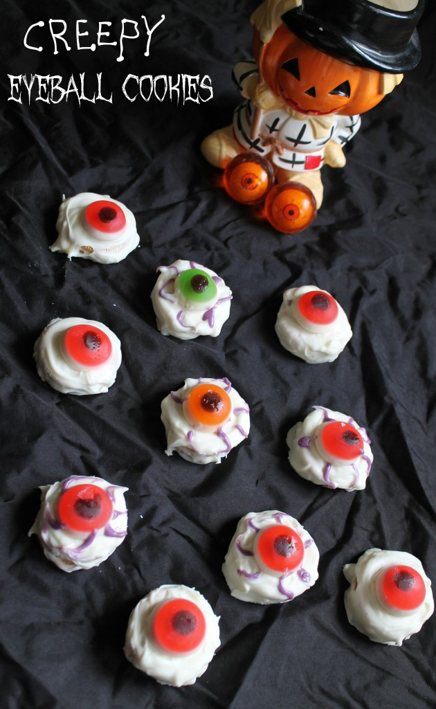 Bloodshot Eyeball cookies