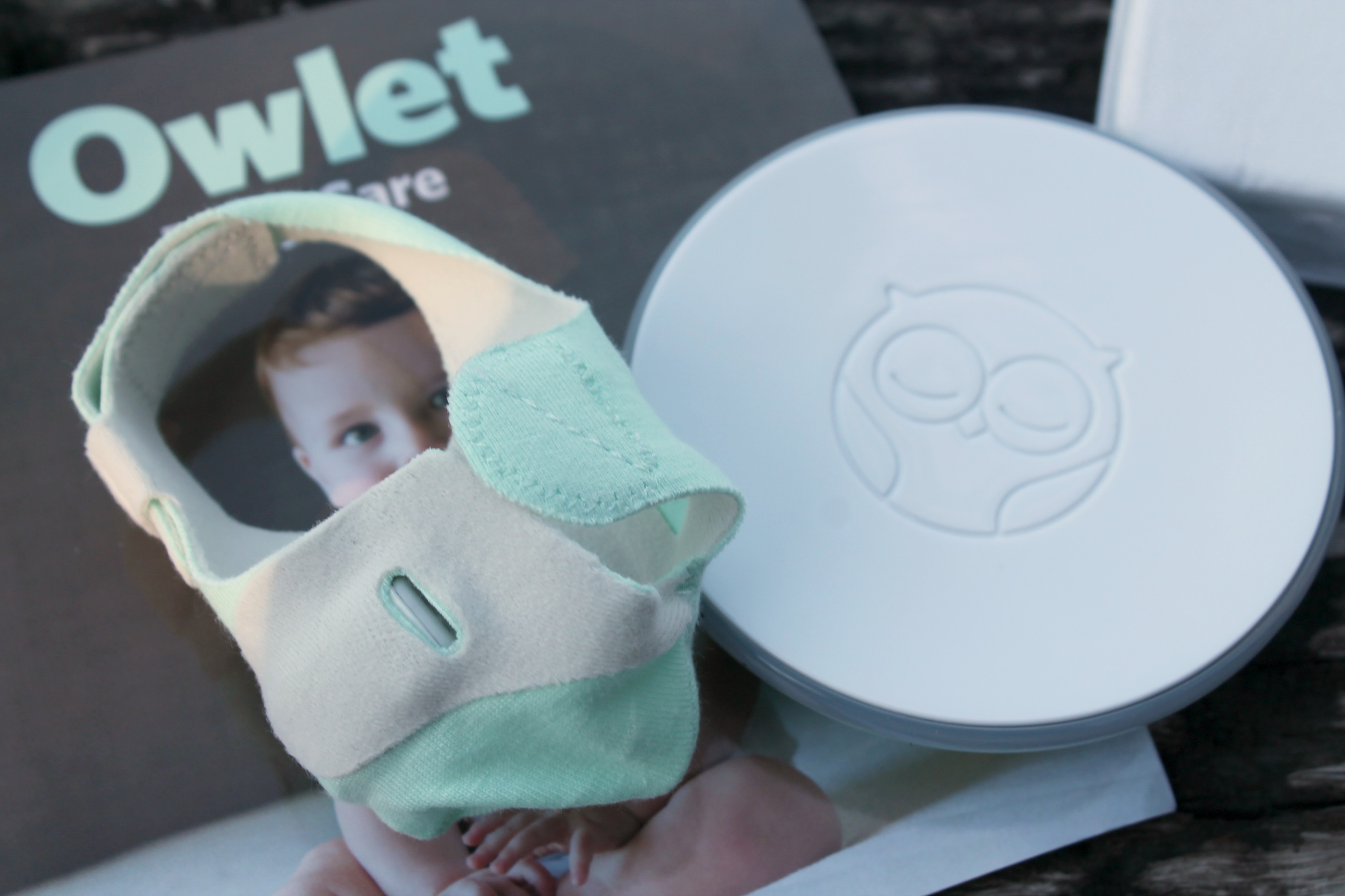 New Baby Care With Owlet Baby Vitals Monitor Simply