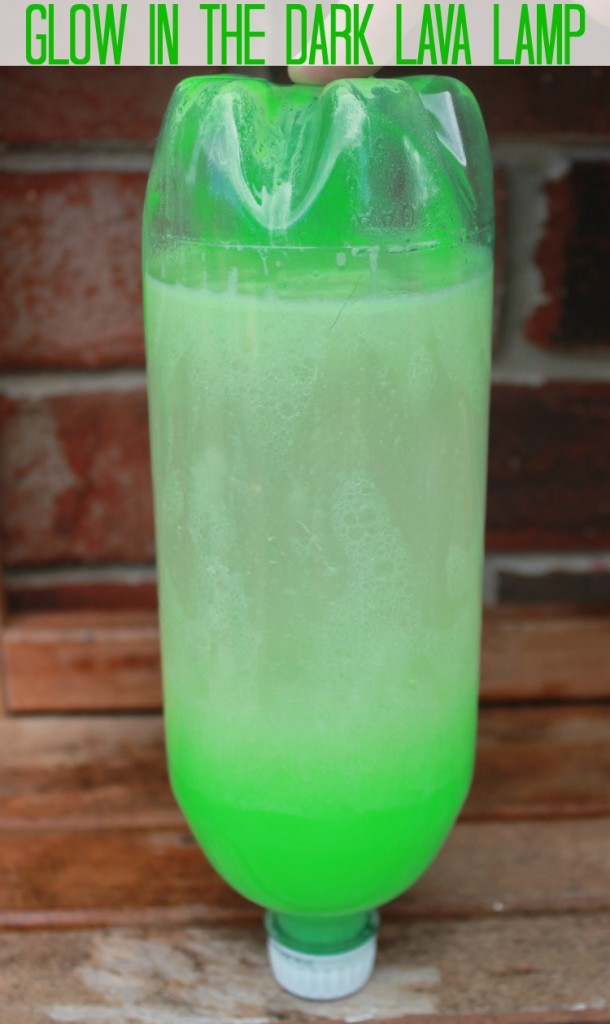 Make A DIY Glow In The Dark Lava Lamp