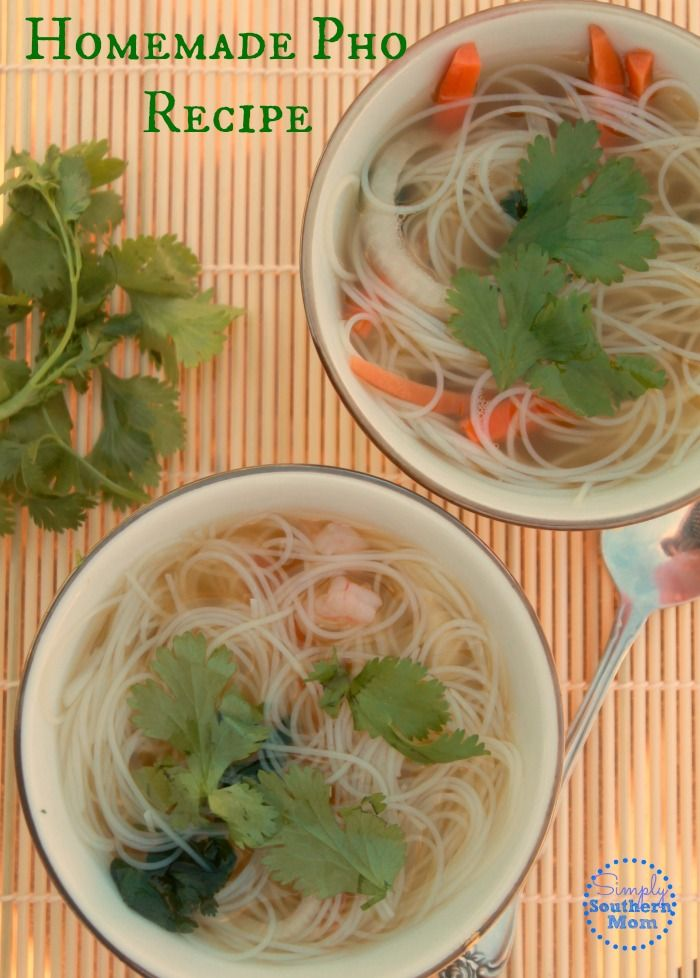 Love Vietnamese food? This simple Pho recipe will satisfy your craving for Vietnamese Noodle Soup in minutes. It's easy, quick and naturally gluten free.