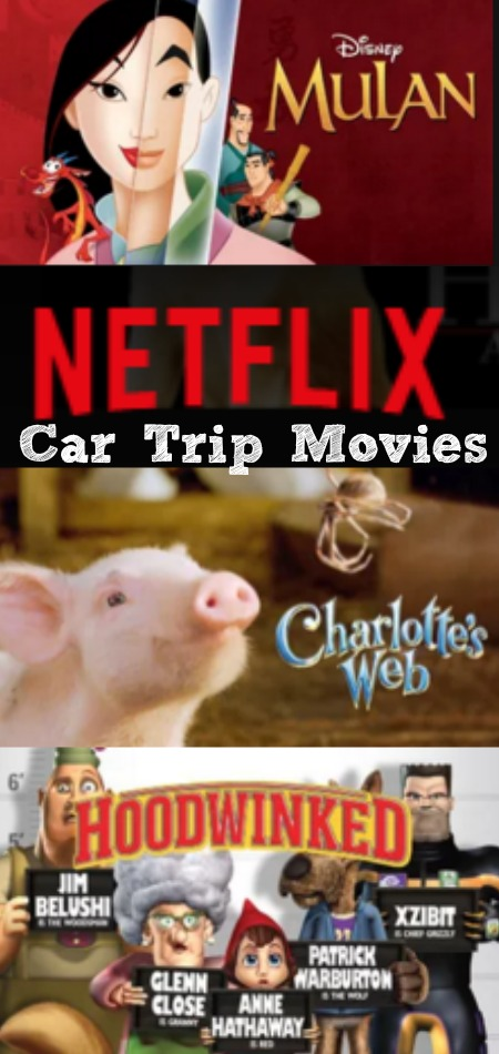 Car Trip Movies for kids