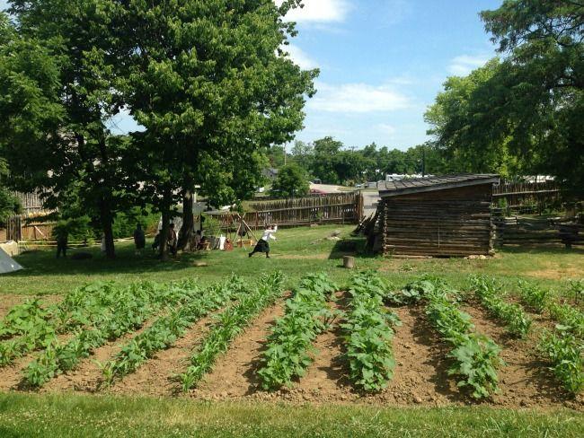 Harrodsburg Kentucky Old Fort Harrod