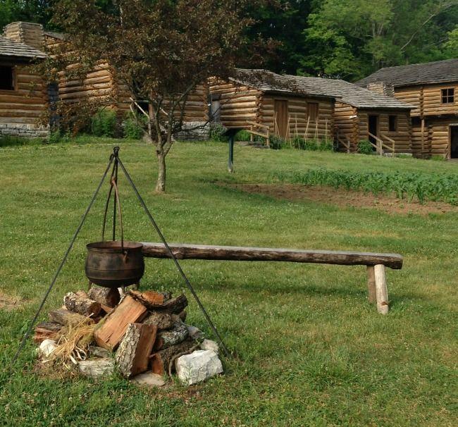 Old Fort Harrod In Harrodsburg Kentucky