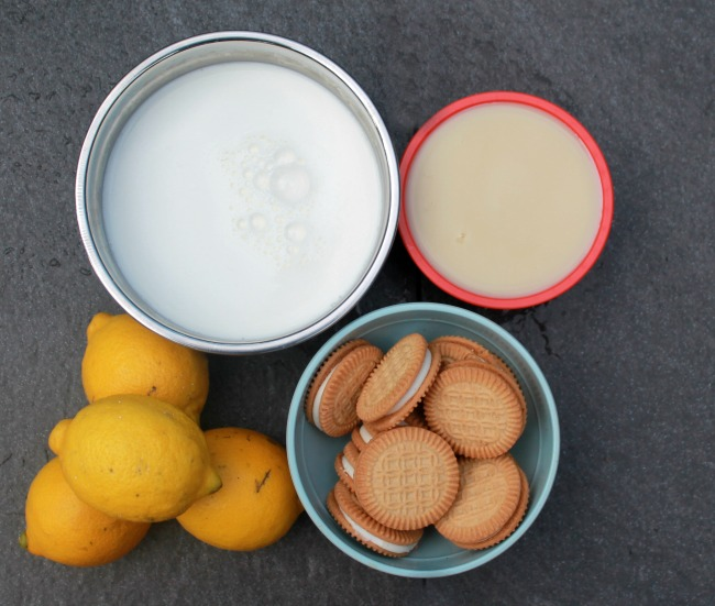 Ingredients Lemon Ice Box Pie Ice Cream