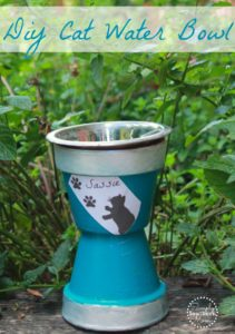 How to Make A DIY Decorative Cat Water Bowl