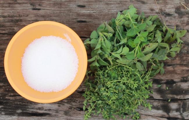 ingredients for salt