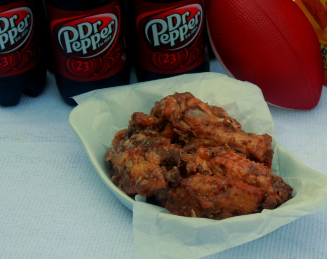 Dr Pepper BBQ Chicken Wings