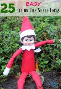 25 Easy Elf on the Shelf Ideas