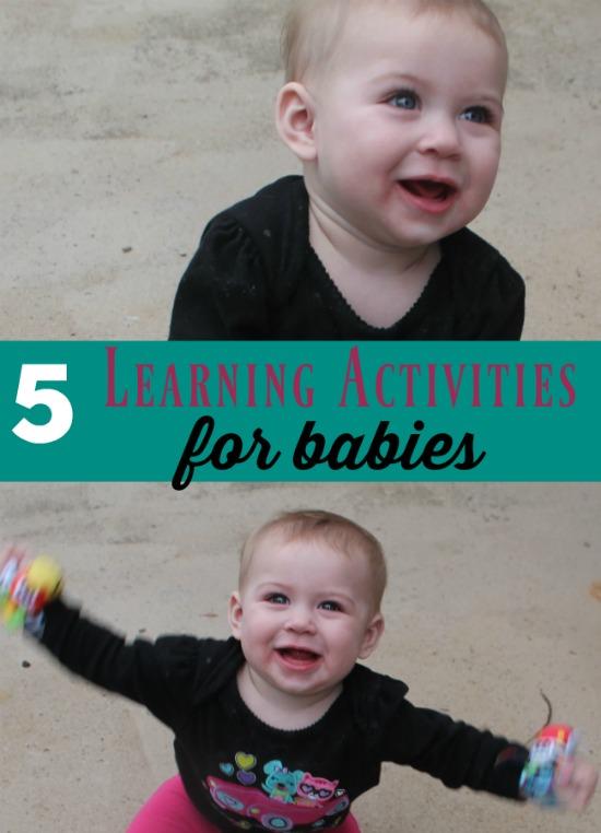 5 learning activities for babies