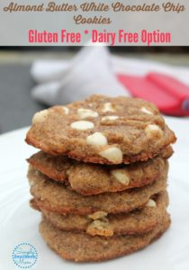 Almond Butter White Chocolate Chip Cookie Recipe