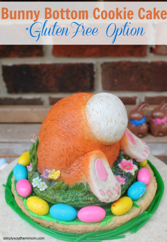Bunny Bottom Cookie Cake