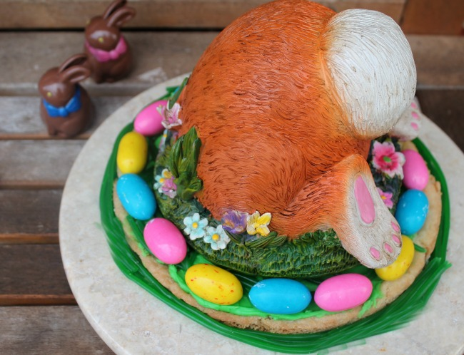 Bunny Bottom Easter Cookie Cake Recipe