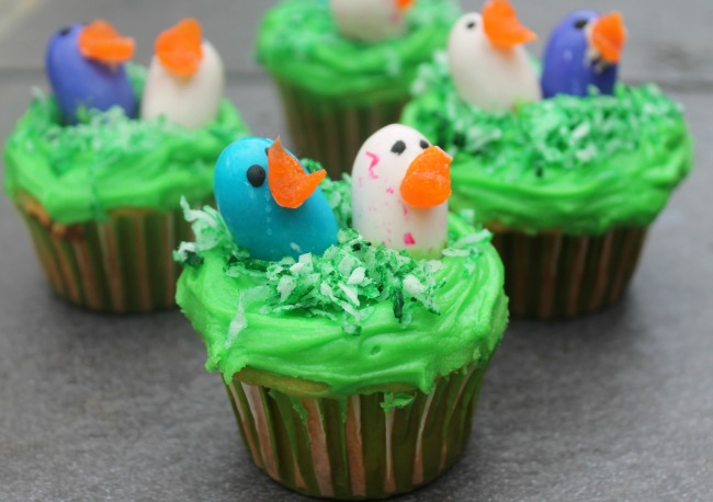 Cupcakes Birds Nest Recipe