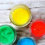Homemade Aromatherapy Finger Paint