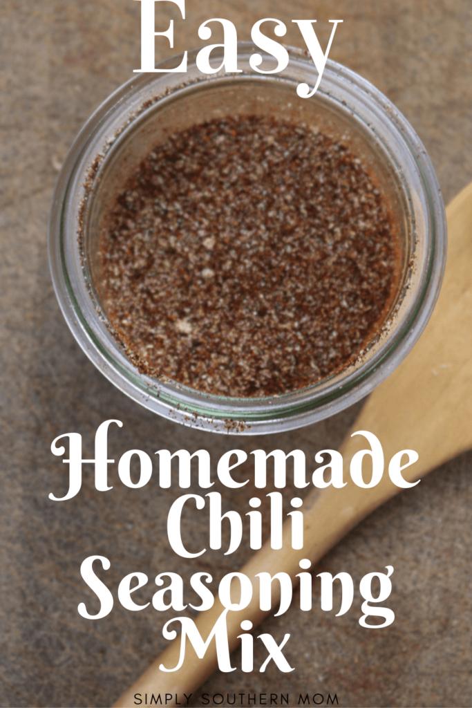 Homemade Chili Seasoning Recipe Simply Southern Mom